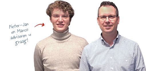 Pieter-Jan en Marco van Varik Optiek